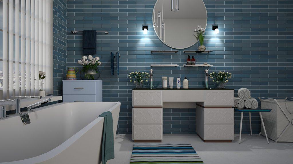 couleurs petite salle de bain